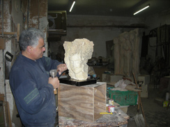 Mario Agius at work